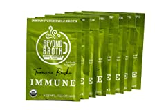 Beyond Broth Turmeric Reishi Immune Organic Vegan Vegetable Instant Sipping Broth
