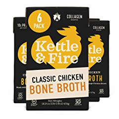 Chicken Bone Broth Soup by Kettle and Fire