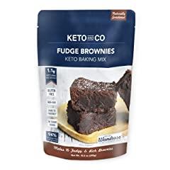 Keto Fudge Brownie Mix