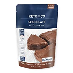 Chocolate Keto Cake Mix by Keto and Co