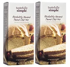 Tastefully Simple Absolutely Almond Pound Cake Mix