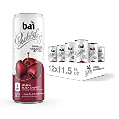 Bai Bubbles, Bolivia Black Cherry, Antioxidant Infused Drinks