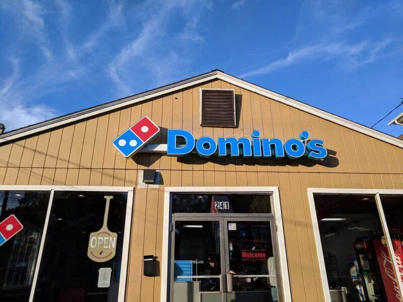 vegan options at Domino's