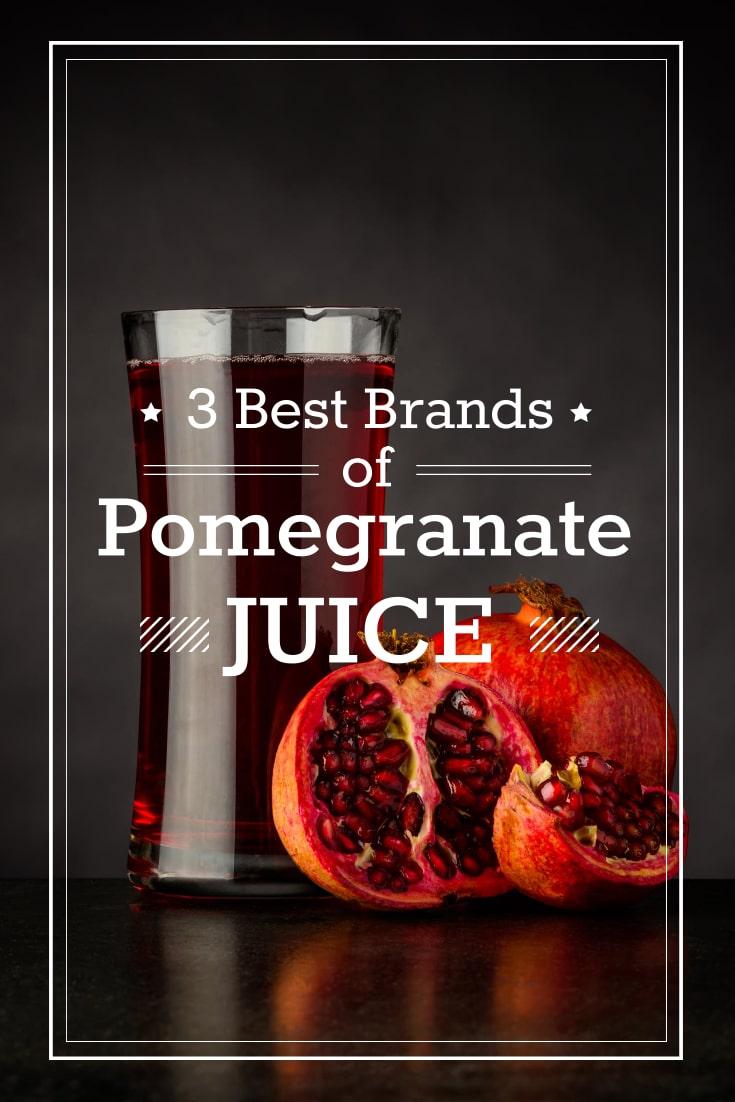 Pomegranate Juice Brands Infographic